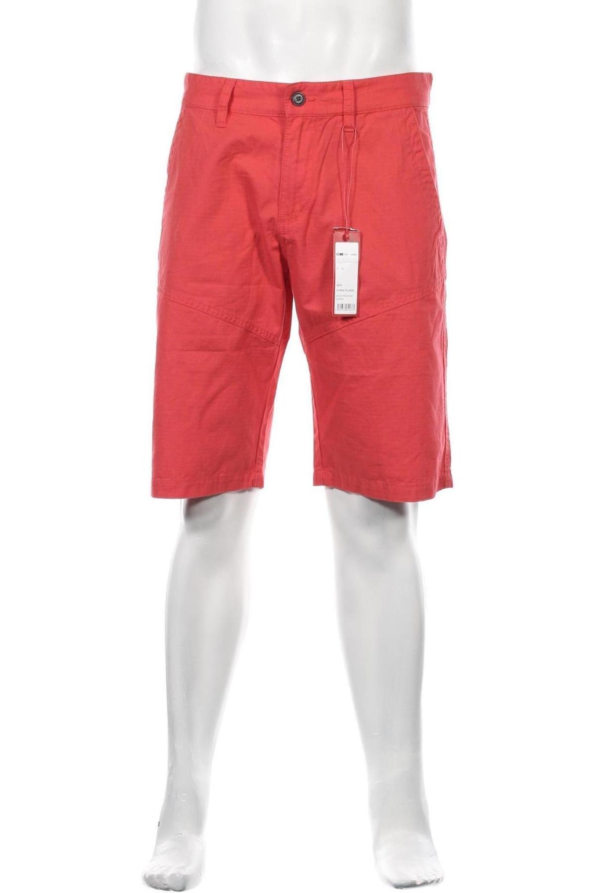 Pánské kraťasy S.Oliver, Velikost M, Barva Červená, Bavlna, Cena  254,00Kč