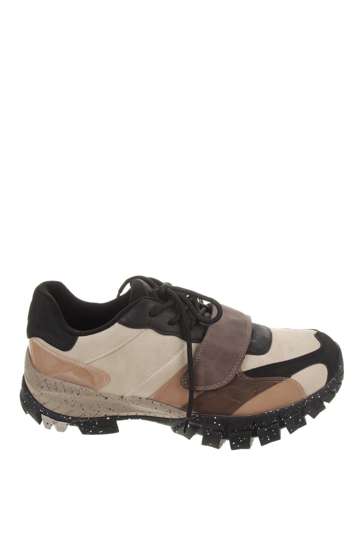 Ανδρικά παπούτσια Pull&Bear, Μέγεθος 45, Χρώμα Πολύχρωμο, Δερματίνη, πολυουρεθάνης, Τιμή 20,10€
