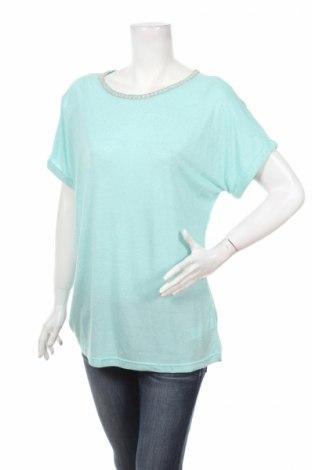 Дамска блуза Anthology, Размер L, Цвят Син, 80% вискоза, 20% лен, Цена 11,90лв.