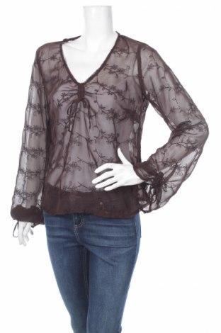 Γυναικεία μπλούζα Promiss, Μέγεθος S, Χρώμα Καφέ, 100% πολυεστέρας, Τιμή 3,30€