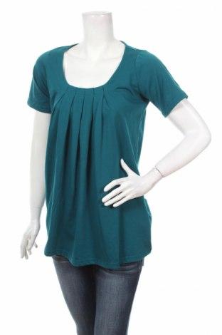 Дамска блуза Wardrobe, Размер L, Цвят Зелен, 50% памук, 50% полиестер, Цена 3,00лв.