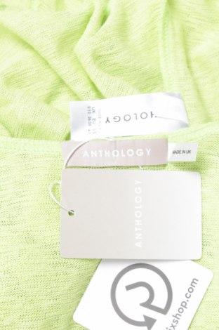 Дамска жилетка Anthology, Размер S, Цвят Зелен, 100% полиестер, Цена 9,66лв.