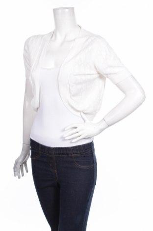 Дамска жилетка Ronni Nicole, Размер M, Цвят Екрю, 72% вискоза, 28% полиамид, Цена 5,45лв.