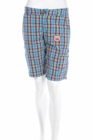Дамски къс панталон Ock, Размер S, Цвят Многоцветен, Памук, Цена 6,30лв.
