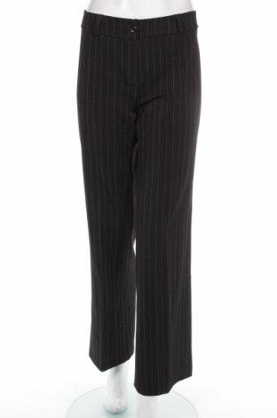 Дамски панталон, Размер M, Цвят Черен, 95% полиестер, 5% еластан, Цена 10,12лв.