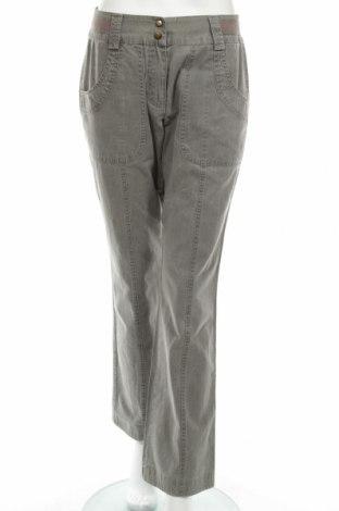 Дамски панталон Yessica, Размер M, Цвят Сив, Памук, Цена 7,54лв.
