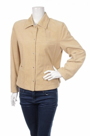 Дамско яке, Размер L, Цвят Бежов, 98% памук, 2% еластан, Цена 9,00лв.
