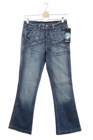Детски дънки, Размер 12-13y/ 158-164 см, Цвят Син, 100% памук, Цена 11,25лв.