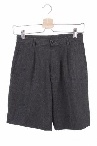Детски къс панталон St. Michael Marks & Spencer, Размер 12-13y/ 158-164 см, Цвят Сив, 60% полиестер, 25% вълна, 13% вискоза, 2% еластан, Цена 11,80лв.