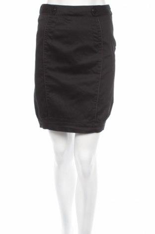 Пола, Размер S, Цвят Черен, 97% памук, 3% еластан, Цена 8,28лв.