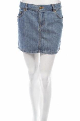 Пола H&M, Размер S, Цвят Син, 70% памук, 30% полиестер, Цена 5,22лв.