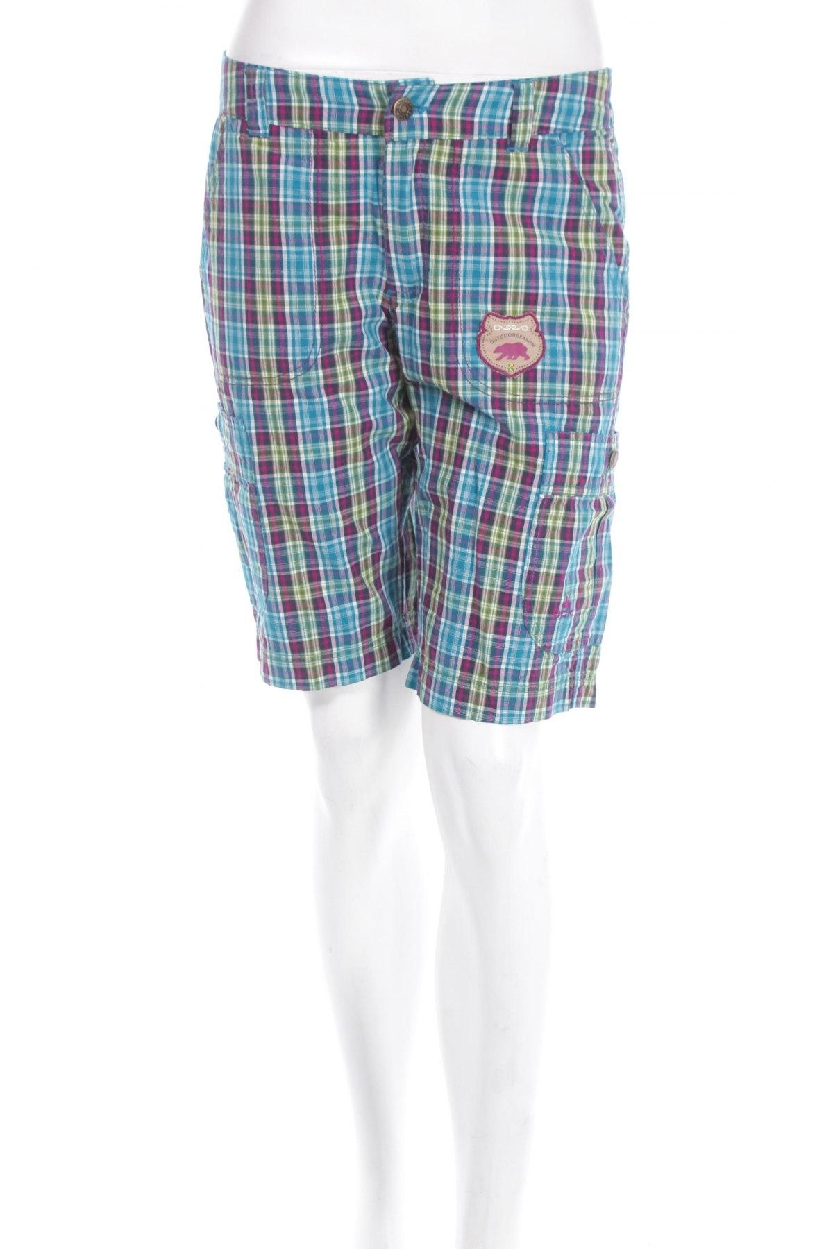 Γυναικείο κοντό παντελόνι Ock, Μέγεθος S, Χρώμα Πολύχρωμο, Βαμβάκι, Τιμή 3,25€