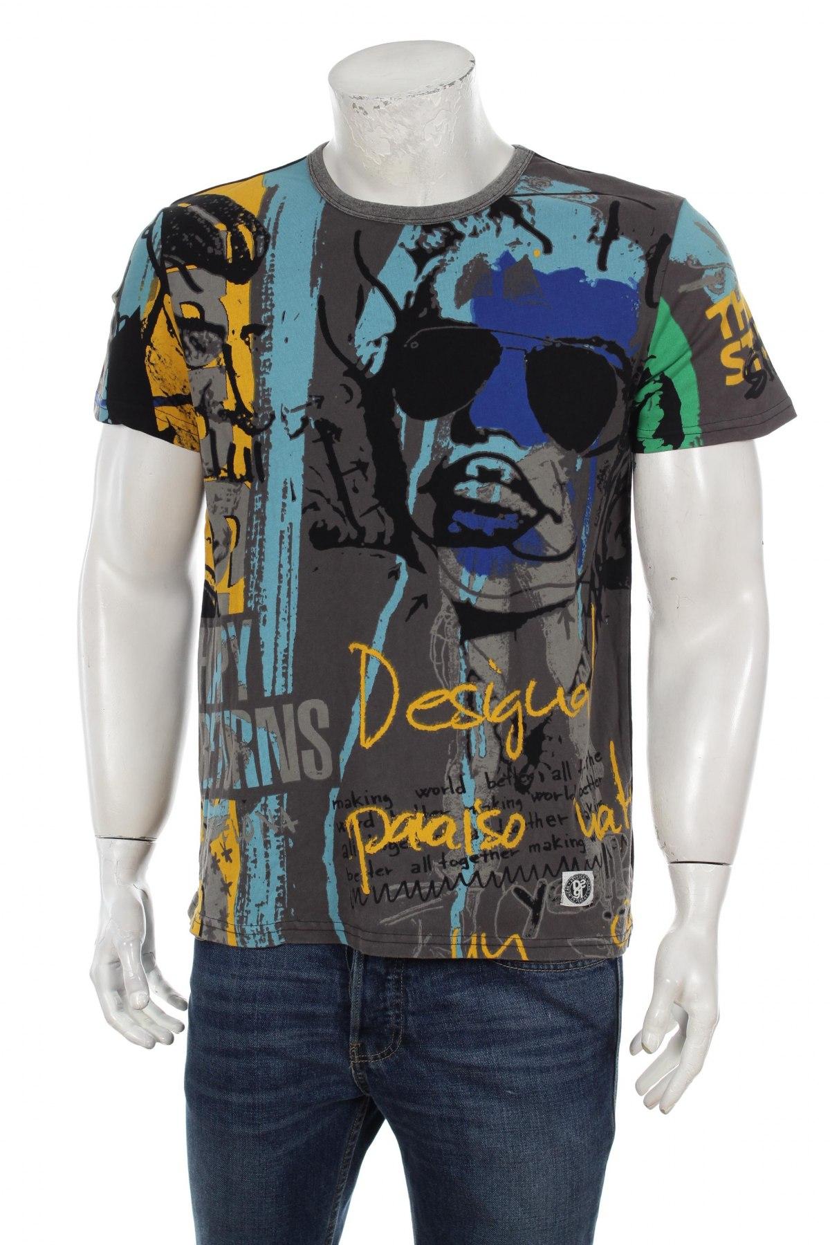 Pánske tričko Desigual - za výhodnú cenu na Remix -  102531592 6a801435a96