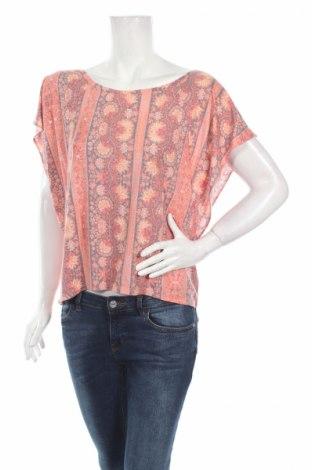 Дамска блуза American Eagle, Размер L, Цвят Многоцветен, 50% полиестер, 50% вискоза, Цена 6,80лв.