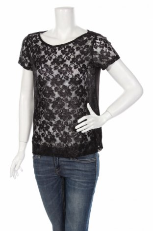 Γυναικεία μπλούζα George, Μέγεθος M, Χρώμα Μαύρο, Πολυεστέρας, Τιμή 4,08€