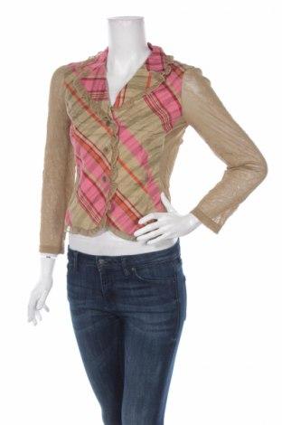 Дамска риза Jones, Размер S, Цвят Многоцветен, 46% вискоза, 42% лен, 12% полиестер, Цена 7,02лв.