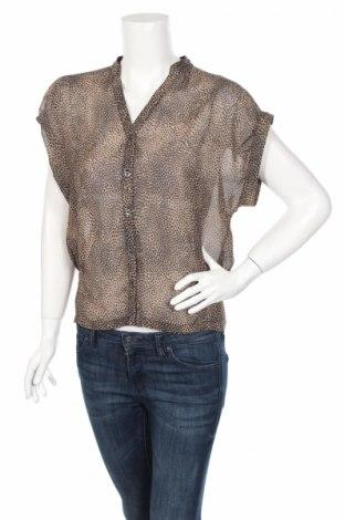 Дамска риза Lashez, Размер M, Цвят Кафяв, Цена 5,52лв.