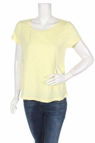 Γυναικείο t-shirt H&M, Μέγεθος M, Χρώμα Κίτρινο, Βαμβάκι, Τιμή 3,96€