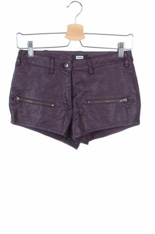Dámske krátke kožené nohavice  Bik Bok