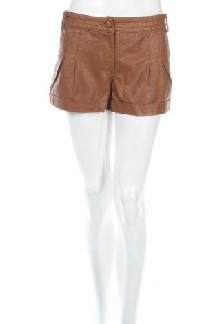 Dámske krátke kožené nohavice  Denim Co