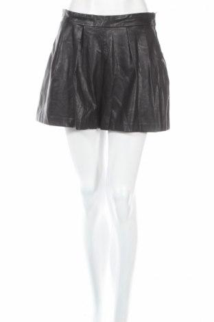 Dámske krátke kožené nohavice  H&M