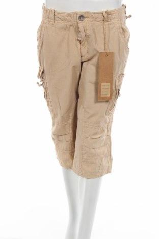 Дамски панталон Biston, Размер M, Цвят Бежов, 100% памук, Цена 8,11лв.