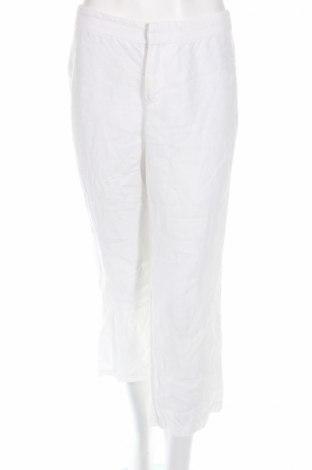 Дамски панталон Mexx, Размер S, Цвят Бял, Лен, Цена 8,05лв.