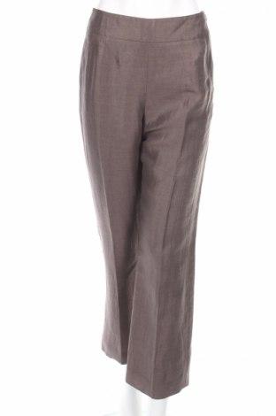 Дамски панталон Minuet Petite, Размер S, Цвят Сив, 90% лен, 10% полиамид, Цена 38,88лв.
