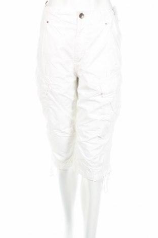 Дамски панталон United Colors Of Benetton, Размер L, Цвят Бял, Памук, Цена 6,58лв.