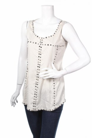 Γυναικείο αμάνικο μπλουζάκι Apriori, Μέγεθος M, Χρώμα Γκρί, Πολυεστέρας, Τιμή 2,78€