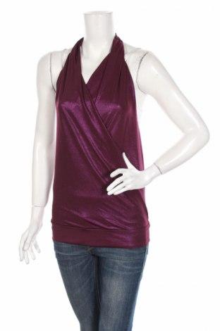 Γυναικείο αμάνικο μπλουζάκι Batik, Μέγεθος M, Χρώμα Βιολετί, Τιμή 3,69€