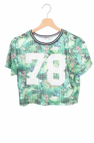 Detská blúzka  H&M, Veľkosť 12-13y/ 158-164 cm, Farba Viacfarebná, 98% polyester, 2% elastan, Cena  3,40€
