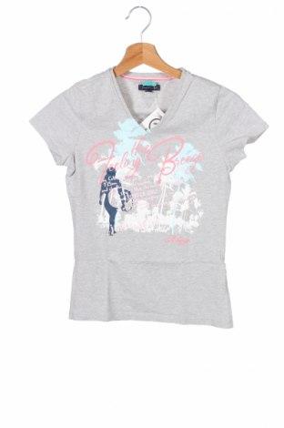 Детска тениска Tommy Hilfiger, Размер 11-12y/ 152-158 см, Цвят Сив, Цена 22,40лв.