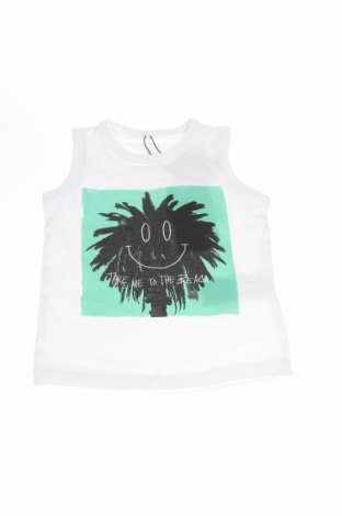 Gyerek trikó Name It, Méret 12-18m / 80-86 cm, Szín Fehér, 95% pamut, 5% elasztán, Ár 2414 Ft