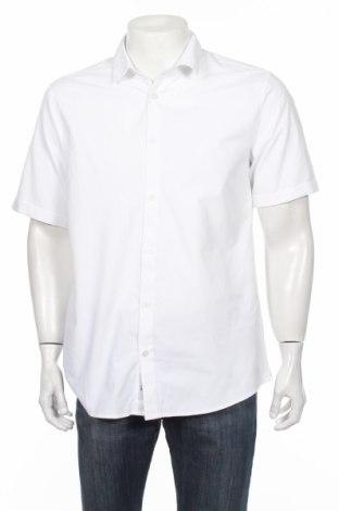 Pánska košeľa  Only & Sons, Veľkosť M, Farba Biela, 55% bavlna, 45% polyester, Cena  7,94€