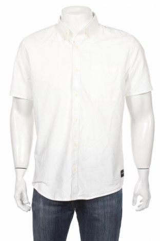 Pánska košeľa  Only & Sons, Veľkosť L, Farba Biela, 100% bavlna, Cena  7,76€
