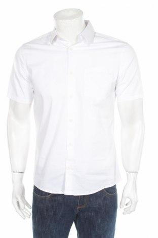 Pánska košeľa  Tiger Of Sweden, Veľkosť M, Farba Biela, 66% bavlna, 30% polyamide, 4% elastan, Cena  16,06€