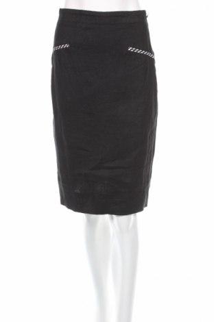 Φούστα Blacky Dress, Μέγεθος S, Χρώμα Μαύρο, Λινό, Τιμή 3,57€