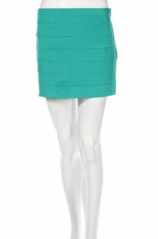 Φούστα Silvian Heach, Μέγεθος M, Χρώμα Πράσινο, 97% πολυεστέρας, 3% ελαστάνη, Τιμή 15,03€
