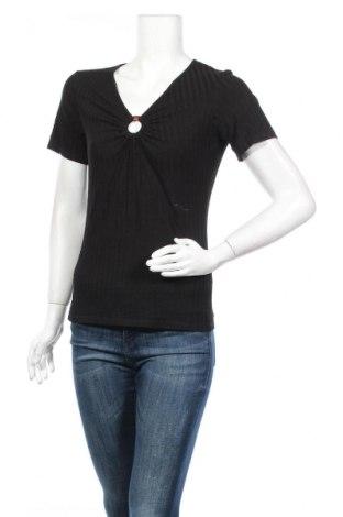 Γυναικεία μπλούζα About You, Μέγεθος M, Χρώμα Μαύρο, 94% βισκόζη, 6% ελαστάνη, Τιμή 4,91€