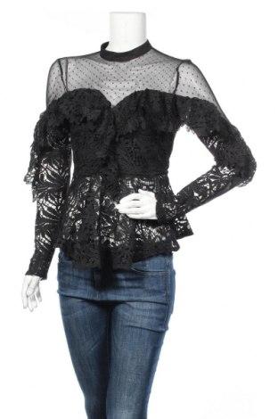 Дамска блуза Allyson, Размер S, Цвят Черен, Полиестер, Цена 31,50лв.