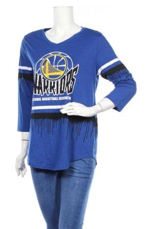 Дамска спортна блуза Nba, Размер L, Цвят Син, 60% памук, 40% полиестер, Цена 5,67лв.