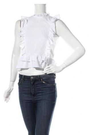 Γυναικεία μπλούζα Yfl Reserved, Μέγεθος XS, Χρώμα Λευκό, Βαμβάκι, Τιμή 6,66€