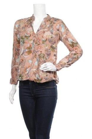 Дамска блуза Zara, Размер S, Цвят Многоцветен, Цена 24,94лв.