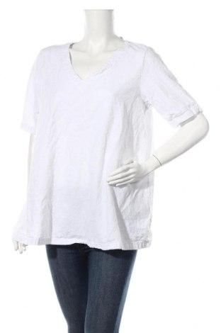 Дамска блуза Zizzi, Размер L, Цвят Бял, 100% памук, Цена 24,00лв.