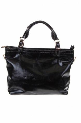 Γυναικεία τσάντα, Χρώμα Μαύρο, Δερματίνη, Τιμή 16,01€