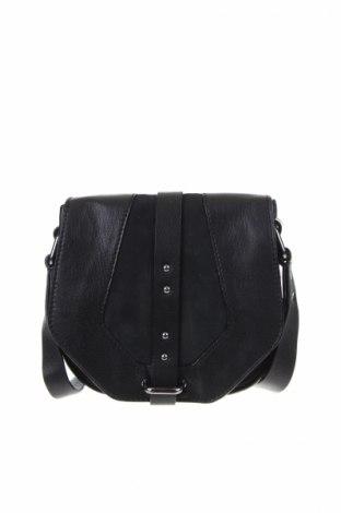 Γυναικεία τσάντα, Χρώμα Μαύρο, Γνήσιο δέρμα, Τιμή 27,44€