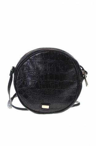 Γυναικεία τσάντα Mango, Χρώμα Μαύρο, Δερματίνη, Τιμή 12,00€