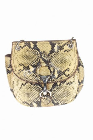 Damska torebka Massimo Dutti, Kolor Beżowy, Skóra naturalna, Cena 260,75zł