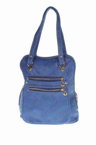 Γυναικεία τσάντα Titanium, Χρώμα Μπλέ, Δερματίνη, Τιμή 25,33€